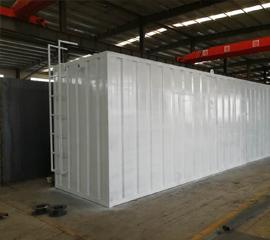 成都集装箱污水处理设备30吨项目
