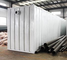 河南集装箱一体化污水处理设备
