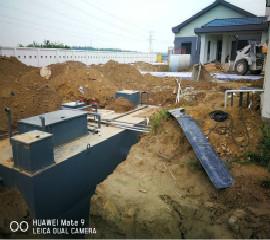 新疆喀什地区生活污水一体化污水处