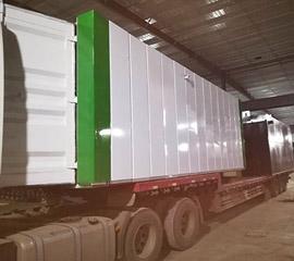 陕县洗涤集装箱一体化污水处理设备