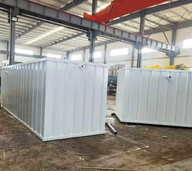 辉南乡镇医院集装箱一体化污水处理