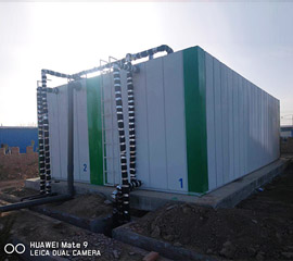 丽江集装箱一体化污水处理设备