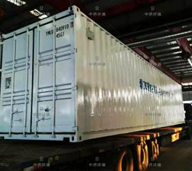 外贸出口集装箱一体化污水处理设备