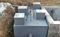地理式污水处理设备的新型工艺