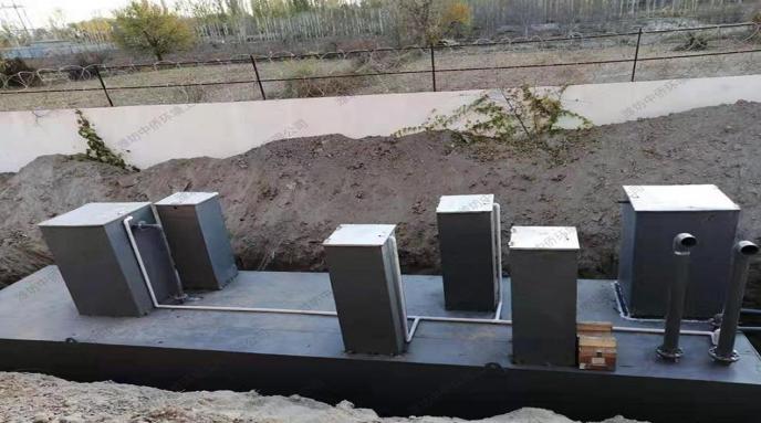 地埋式污水处理设备处理原理